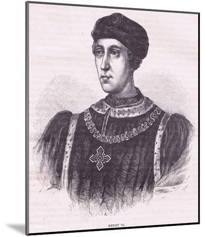Henry VI--Mounted Giclee Print