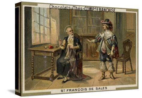 St Francis De Sales--Stretched Canvas Print