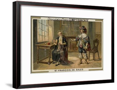 St Francis De Sales--Framed Art Print