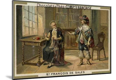 St Francis De Sales--Mounted Giclee Print