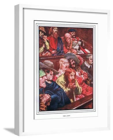 The Jury-John Byam Liston Shaw-Framed Art Print