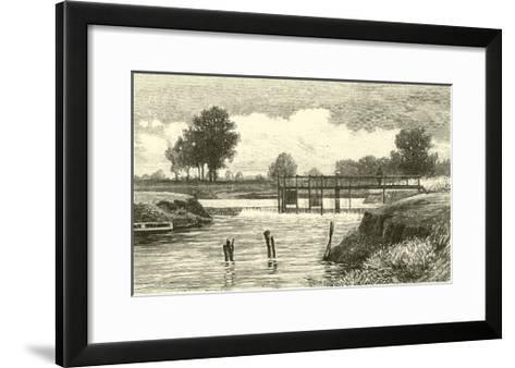 Clifton Weir--Framed Art Print
