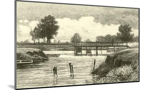 Clifton Weir--Mounted Giclee Print