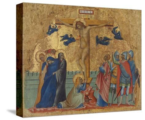 The Crucifixion, C.1340-Paolo Veneziano-Stretched Canvas Print