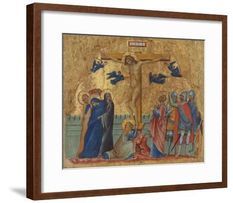 The Crucifixion, C.1340-Paolo Veneziano-Framed Art Print