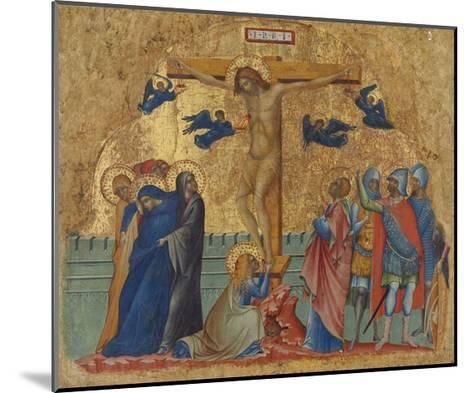 The Crucifixion, C.1340-Paolo Veneziano-Mounted Giclee Print