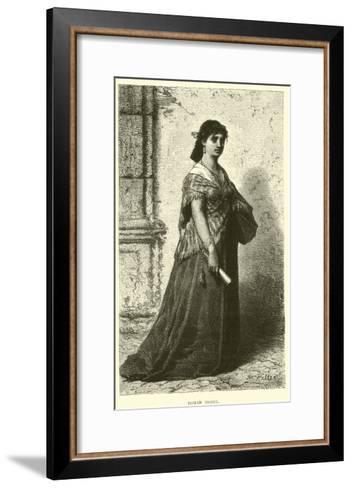 Roman Model--Framed Art Print
