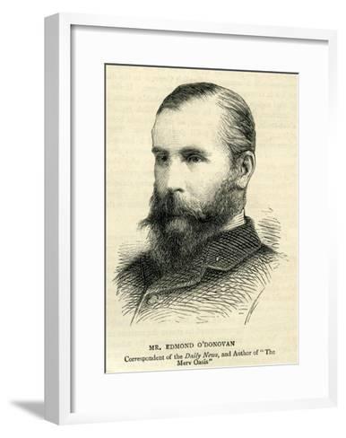 Edmond O'Donovan--Framed Art Print