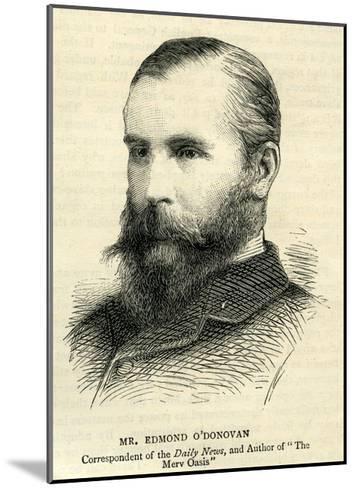 Edmond O'Donovan--Mounted Giclee Print