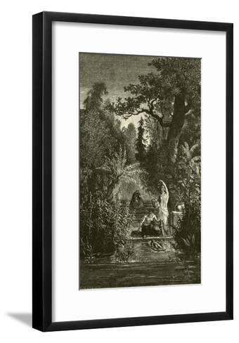 The Sacred Jumna--Framed Art Print