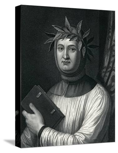 Francis Petrarch, 19th Century--Stretched Canvas Print