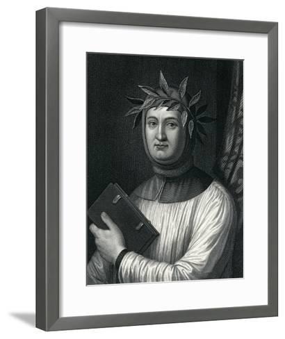 Francis Petrarch, 19th Century--Framed Art Print