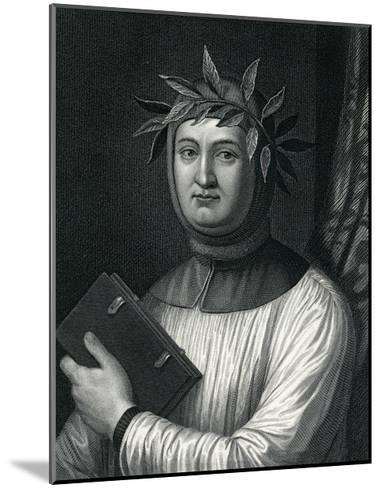 Francis Petrarch, 19th Century--Mounted Giclee Print
