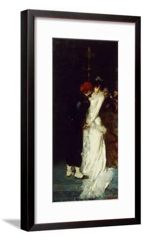 A Soldier's Farewell-Vicenzo Irolli-Framed Art Print