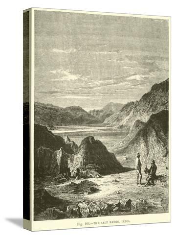 The Salt Range, India--Stretched Canvas Print