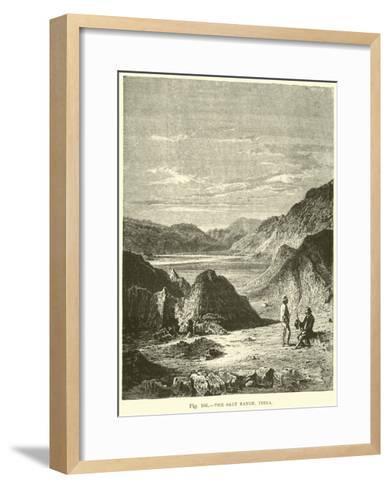 The Salt Range, India--Framed Art Print