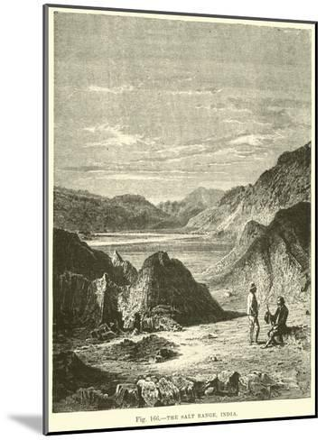 The Salt Range, India--Mounted Giclee Print