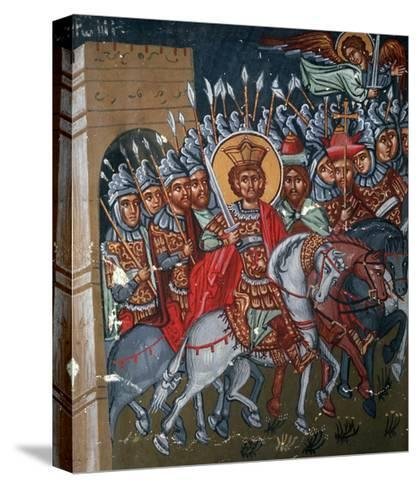 Triumphal Entry of Constantine to Rome, 1494-Philippos Goul-Stretched Canvas Print
