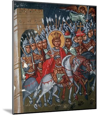 Triumphal Entry of Constantine to Rome, 1494-Philippos Goul-Mounted Giclee Print