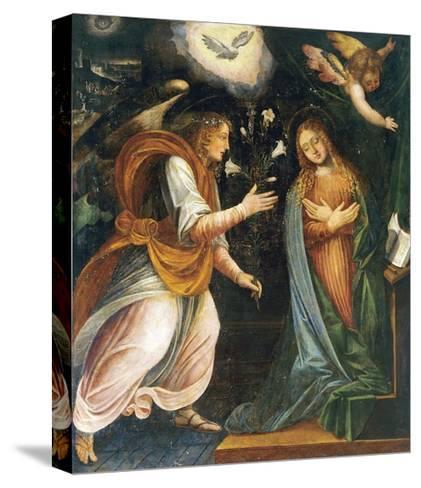 Annunciation, 1613-Melchiorre D'Enrico-Stretched Canvas Print