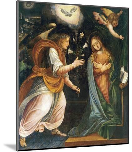 Annunciation, 1613-Melchiorre D'Enrico-Mounted Giclee Print