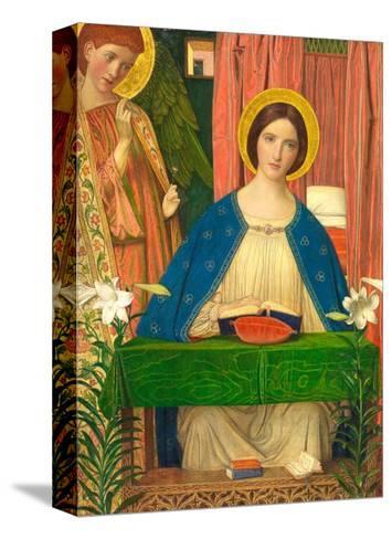The Annunciation-Arthur Joseph Gaskin-Stretched Canvas Print