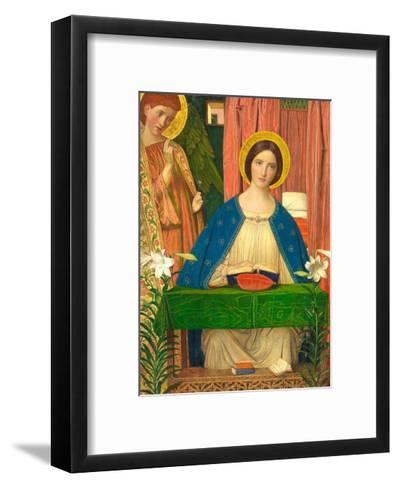 The Annunciation-Arthur Joseph Gaskin-Framed Art Print