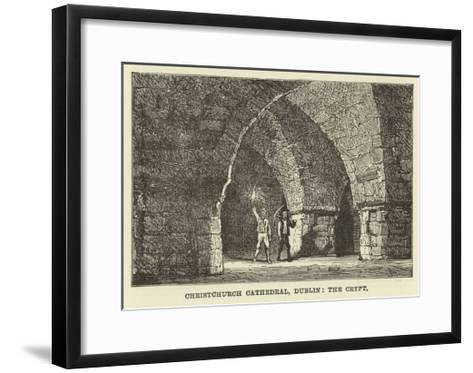 Christchurch Cathedral, Dublin, the Crypt--Framed Art Print