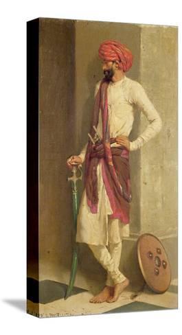 A Kattiwar Sentry-Horace Van Ruith-Stretched Canvas Print