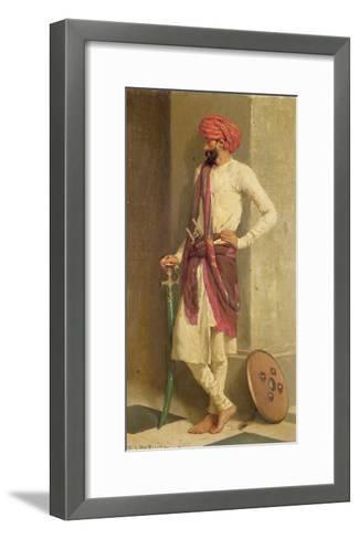 A Kattiwar Sentry-Horace Van Ruith-Framed Art Print