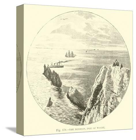 The Needles, Isle of Wight--Stretched Canvas Print