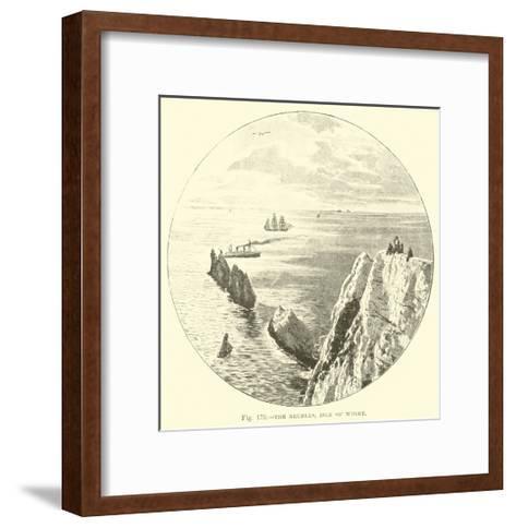 The Needles, Isle of Wight--Framed Art Print
