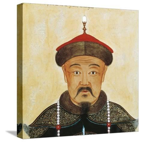 Rirtatto of Kublai Khan or Shizu--Stretched Canvas Print