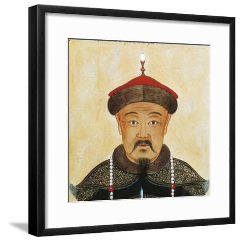 Rirtatto of Kublai Khan or Shizu--Framed Art Print