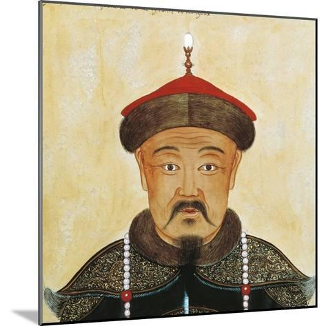 Rirtatto of Kublai Khan or Shizu--Mounted Giclee Print