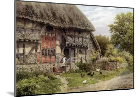 Old Cottage, Bignor, Sussex-Alfred Robert Quinton-Mounted Giclee Print