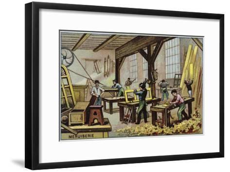 Carpentry--Framed Art Print