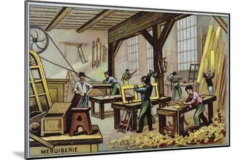 Carpentry--Mounted Giclee Print
