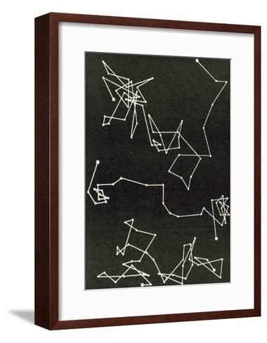 Brownian Motion--Framed Art Print