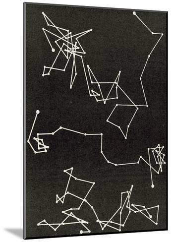 Brownian Motion--Mounted Giclee Print