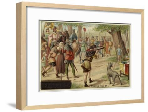 Scene from William Tell--Framed Art Print