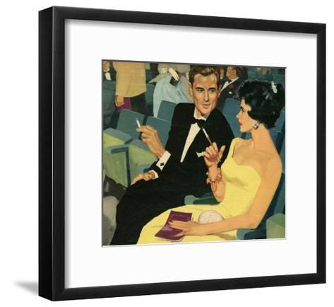 Illustration from 'John Bull', 1957--Framed Art Print