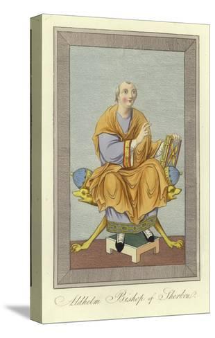 Aldhelm, Bishop of Sherborne--Stretched Canvas Print