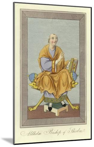 Aldhelm, Bishop of Sherborne--Mounted Giclee Print