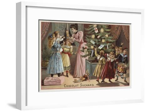 Suchard Chocolates at Christmas--Framed Art Print