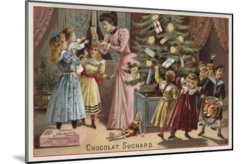 Suchard Chocolates at Christmas--Mounted Giclee Print