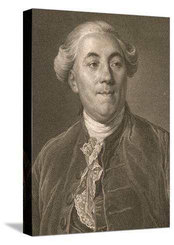 Portrait of Jacques Necker--Stretched Canvas Print
