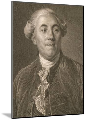 Portrait of Jacques Necker--Mounted Giclee Print