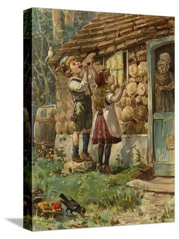 Hansel and Gretel--Stretched Canvas Print