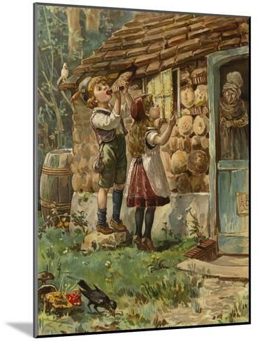 Hansel and Gretel--Mounted Giclee Print